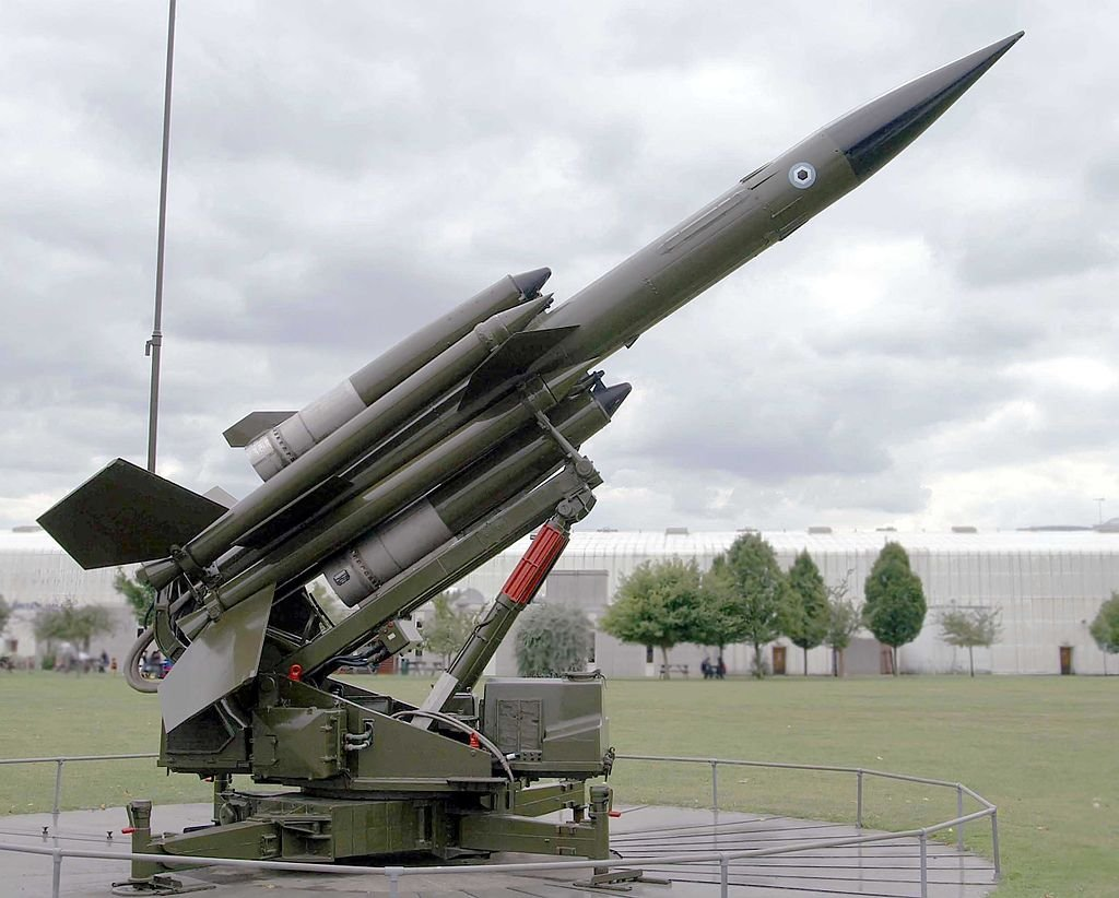 Bloodhound Missile at the RAF Museum, Hendon
