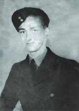 Sgt Ronald Houseman, aged 20, who died on his first mission on the night of 4th/5th July 1944