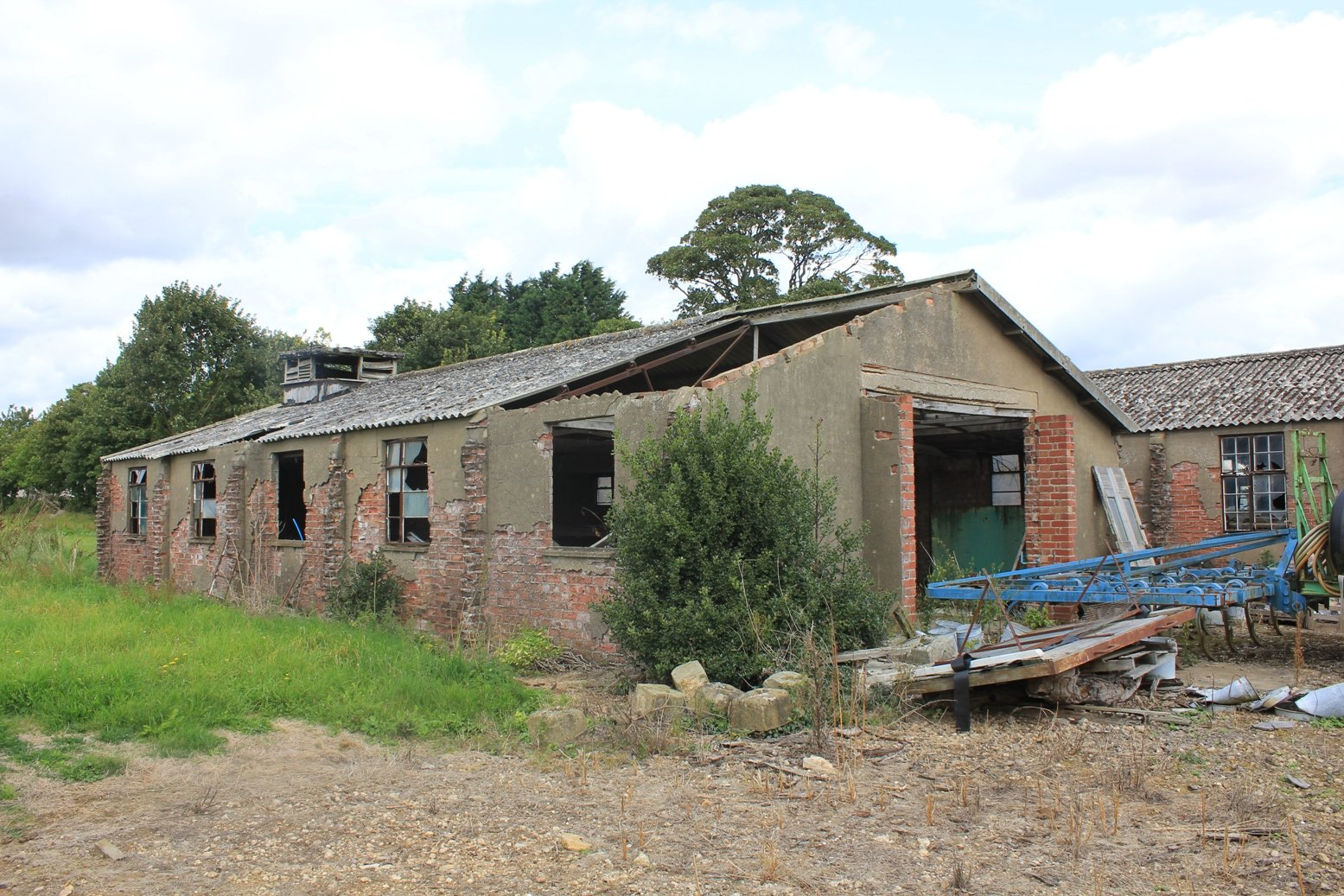 Last remaining RAF Buildings at Dunholme Lodge