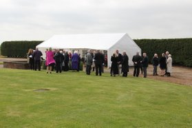 The 44 (Rhodesia) Squadron Association Memorial Service at Dunholme Lodge in 2015