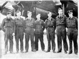 Crew of ME699 for most of it's sorties