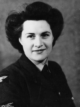 Mum in WAAF Uniform c.1945