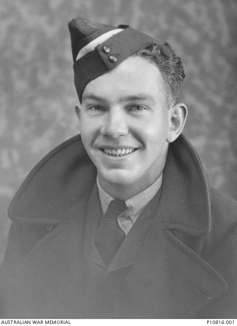Flight Sergeant Norman Huggett, from The Australian War Memorial