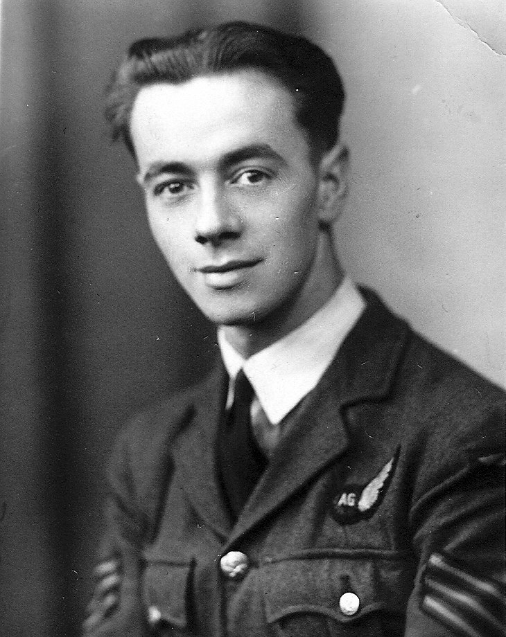 Air Gunner Robert Stainsby Routledge, RAF