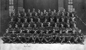 The obligatory initial group picture - Bob is fourth row, second from the right
