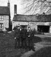 Bill Robinson, Frank Wareham and Leslie Jackson at Dunholme