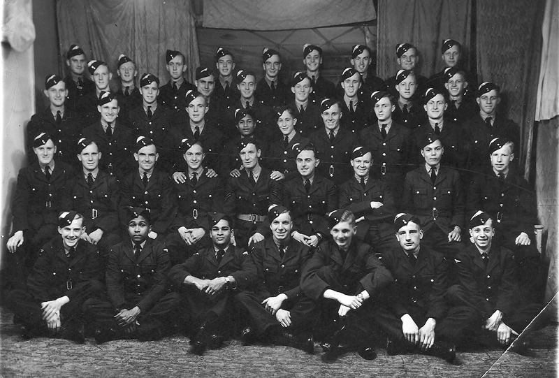 Another training group picture - Bob is centre of the second last row