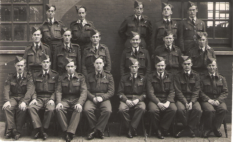 Bob's Air Gunnery Instructors course at RAF Manby (September 1944) - My Father would attend an Air Bomber Instructors course at Manby in November
