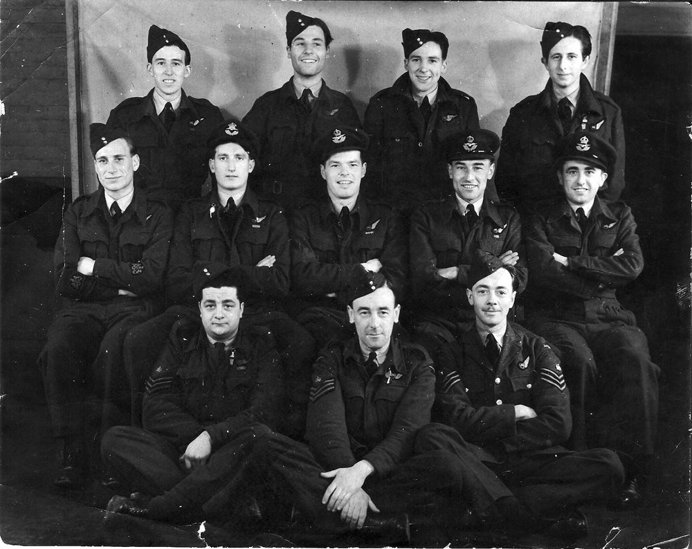 Bob as an instructor at RAF Andreas, February 1945