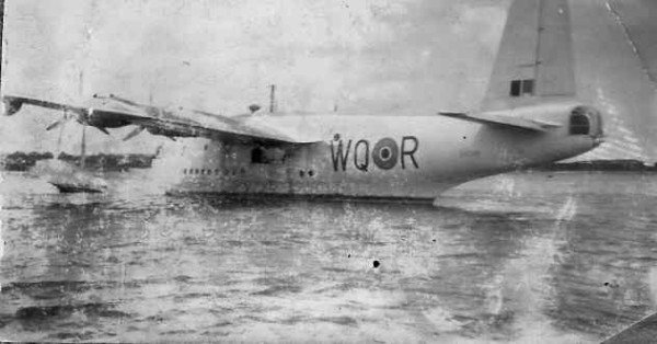 A Sunderland of 209 Squadron - I remember Dad saying what a wonderful airplane the Sunderland was