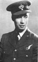 Navigator, Flying Officer Frank Wareham